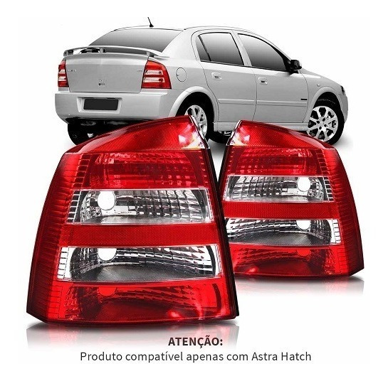 Lanterna Traseira Astra Hatch 2003 2004 2005 2006 2007..2012