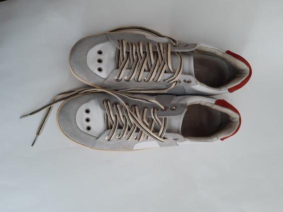 Sapatênis Osklen Couro Tamanho 41 Masculino Sapato
