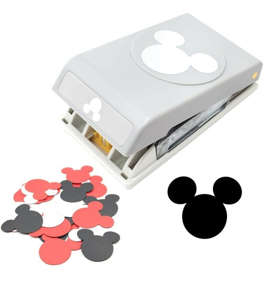 Perforadora Papel Cortar Mickey Mouse Grande Disney Troquel