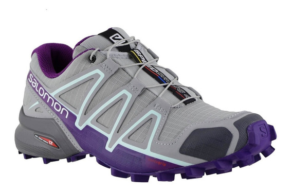 Zapatillas Mujer Salomon Trail Running Speedcross 4 Qu/ac
