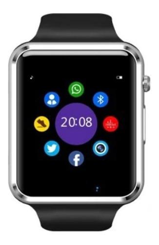 Reloj Smart Watch Inteligente Android Apple Wp Face Sd App