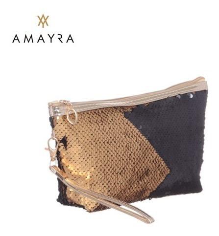 Portacosmeticos Amayra C/lentejuelas Reversibles 67.11043
