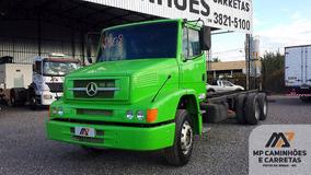 Caminhão Mercedes Benz Mb 1620 6x2 Chassi Truck 2008