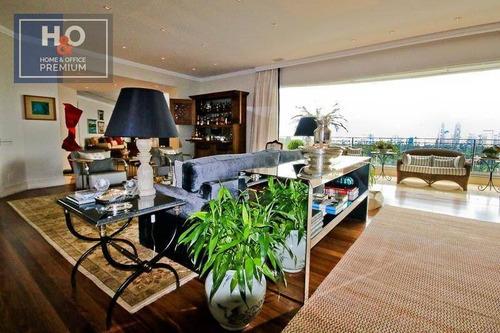 Imagem 1 de 28 de Apartamento Com 4 Dormitórios 4 Suítes, 628 M² - Venda Ou Aluguel - Jardim Guedala - São Paulo/sp - Ap0937