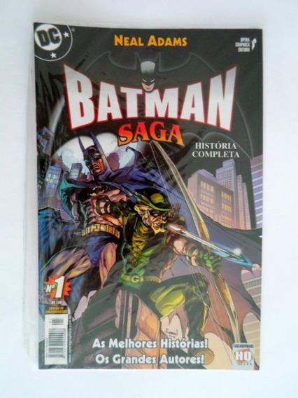 Batman Saga (vários Números) Opera Graphica