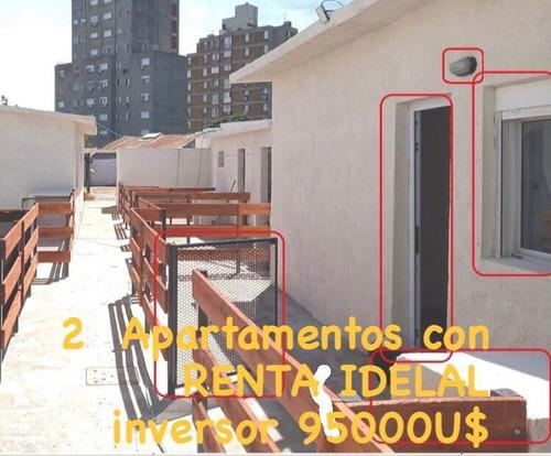 Oportunidad Para Inversores! Dos Apartamentos Con Renta De $26000