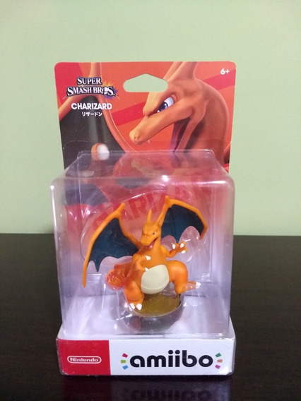 Amiibo Charizard Pokémon Lacrado Pronta Entrega