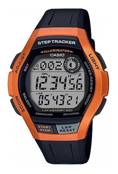 Relógio Casio Masculino Digital Step Tracker Standard Barat