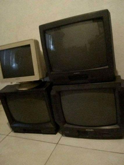 Monitor Samsung Y Televisores Para Reparar / Repuestos Lote