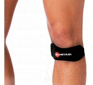 Rodillera Ortopédica Neopreno Strap Ajustable Miyagi (unid)