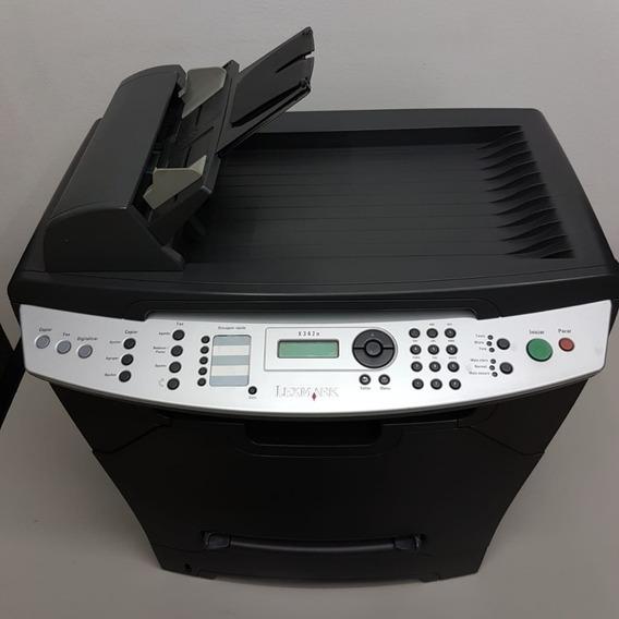 Multifuncional Lexmark X342n - Revisada-com Garantia E Toner