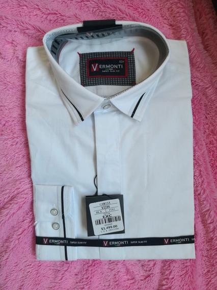 Oferta Camisas Vermonti Italy Slim Fit