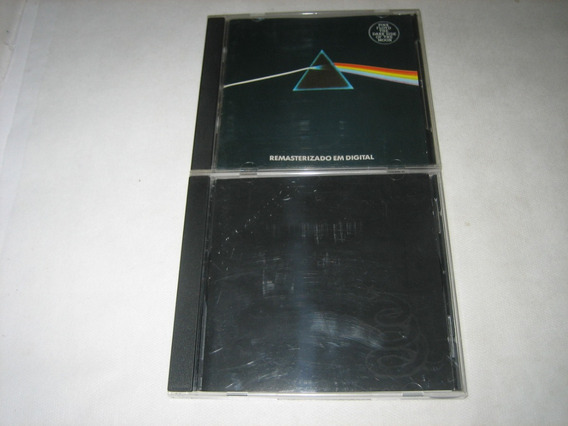Pink Floyd/metallica - Dark Side Moon / Black Album - 2 Cds