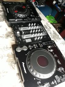 Cdj 1000 Mk3 Pioneer Par +mixer