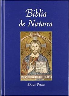 Biblia De Navarra. Edición Popular. Eunsa