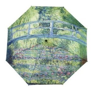 Monet Japanese Bridge: Paraguas