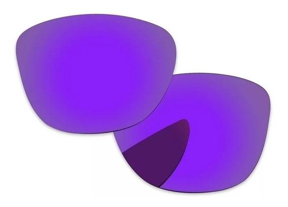 Oakley Frogskins Cristales Mica Polarizados Filtro Uv Nuevos