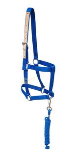 Cabresto Para Cavalo Personalizado C/ Guia - Quarto Milha