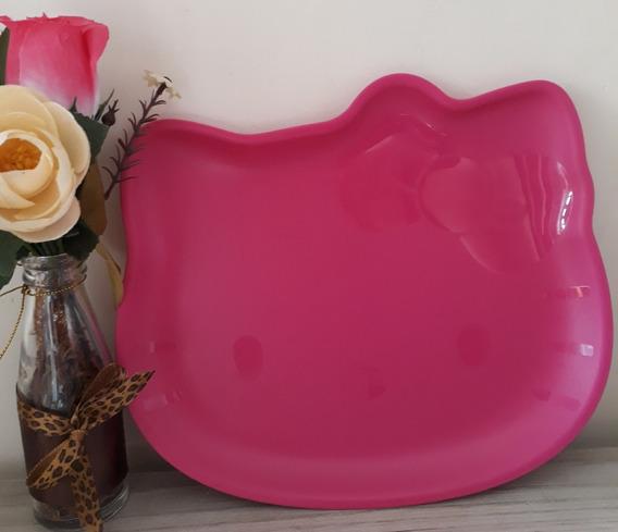 Tupperware Hello Kitty Prato Intantil Rosa Pink Importado