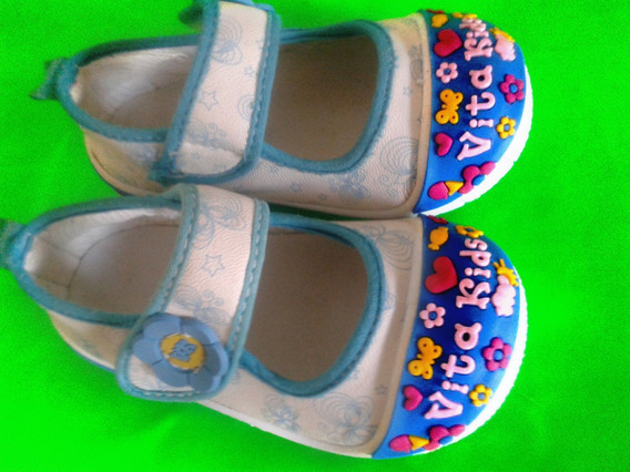 Zapatos Para Niña Vita Kids Originales Talla 19