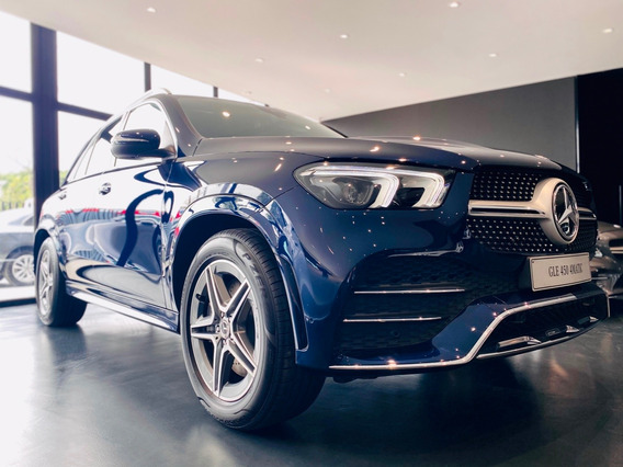 Mercedes Benz Gle 450 4*4 At Cuero 2021 - 0km Azul