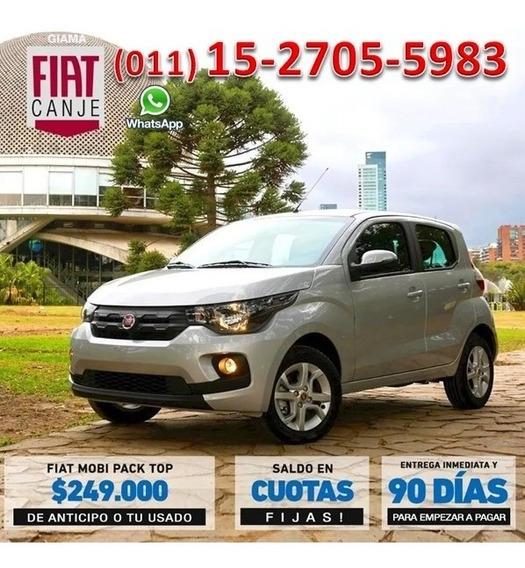 Fiat Mobi 0km 2020 Anticipo $249.000 O Usado Y Cuota Fija X-
