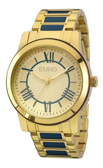 Relógio Euro Feminino Eu2035yei/5a - Dourado