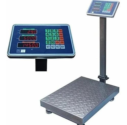 Balanza Bascula 200kg Electronica Plegable