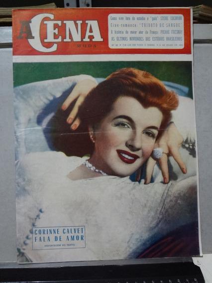 Revista A Cena Muda Nº 29 1953 Corrine Calvet Fala De Amor