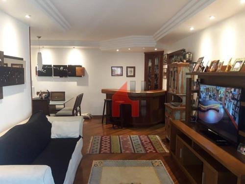 Apartamento Para Alugar, 130 M² Por R$ 5.600,00/mês - Perdizes - São Paulo/sp - Ap0524