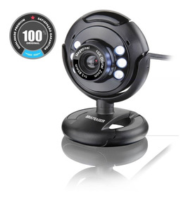 Webcam Vision 16mp Com Microfone Embutido Wc045 Multilaser