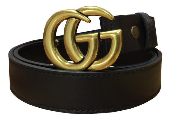 Correa Gucci Cinturon Gg Cg36 2.8 Cm Sin Caja