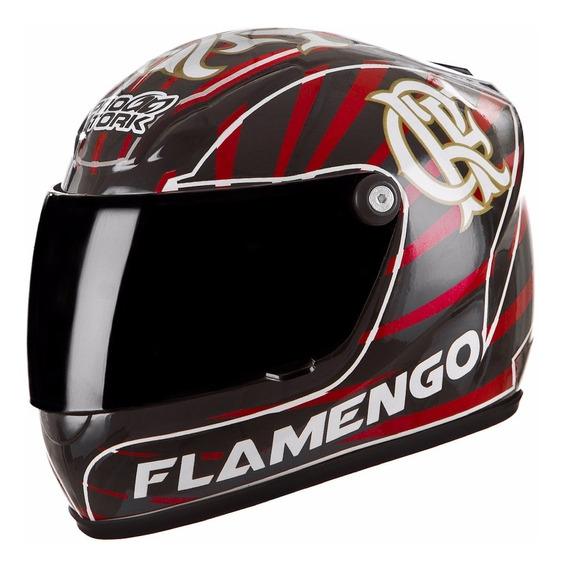 Capacete Mini Pro Tork Flamengo