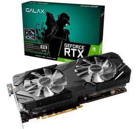 Placa De Vídeo Nvidia Rtx 2070 Ex 8gb Galax