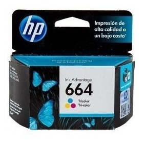 Cartucho Hp 664 Color (hp 2135) Original