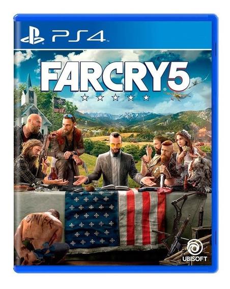 Far Cry 5 - Legendas Em Portugues - Mídia Física - Ps4