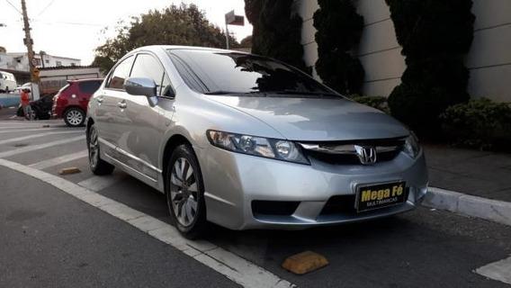 Honda Civic New Lxl 1.8 16v I-vtec 2011 Prata Completo
