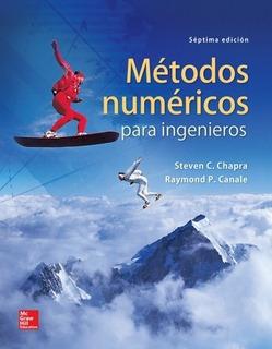Métodos Numéricos Para Ingenieros - Sellado Y Original