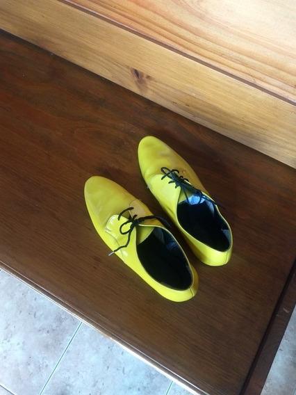 Zapatos De Charol Mujer