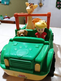 Juguete. Fisher Price. Little People. Safari.