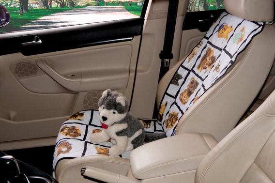 Protetor De Banco Para Carro Pet Matelado Estampado