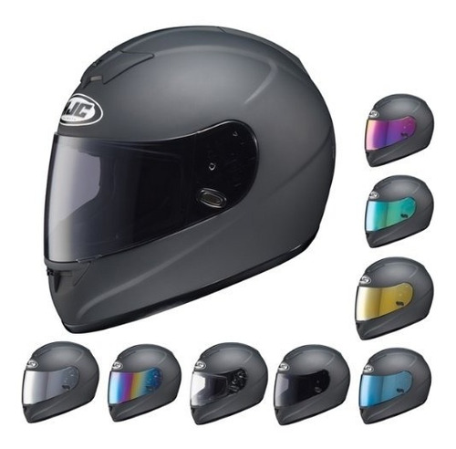 Vicera Para Casco De Moto Hjc Hj-09 Con Proteccion Uv
