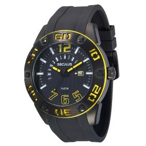 Relógio Masculino Analógico Seculus 20217gpsvpu1 - Preto