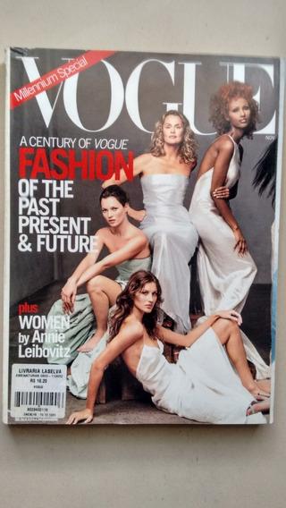 Revista Vogue Importada Em Inglês Gisele Bundchen 1999 F030