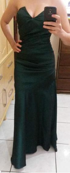 Vestido Em Tafetá
