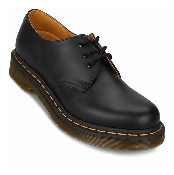 Zapatos Dama Dr Martens 1461 Smooth Black
