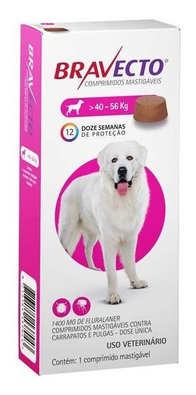 Antipulgas Bravecto Cães Entre 40kg E 56 Kg 1 Comprimido