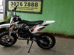 Mini Moto Cross Mxf 49cc/2t Manual - Semi Nova