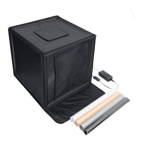 Mini Estúdio Portátil 60x60x60 - Led - Lt005
