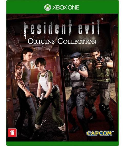 Resident Evil Origins Colection Xbox One Novo E Lacrado!